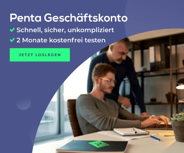 Penta Geschäftskonto für Alle: 2 Monate kostenlos testen